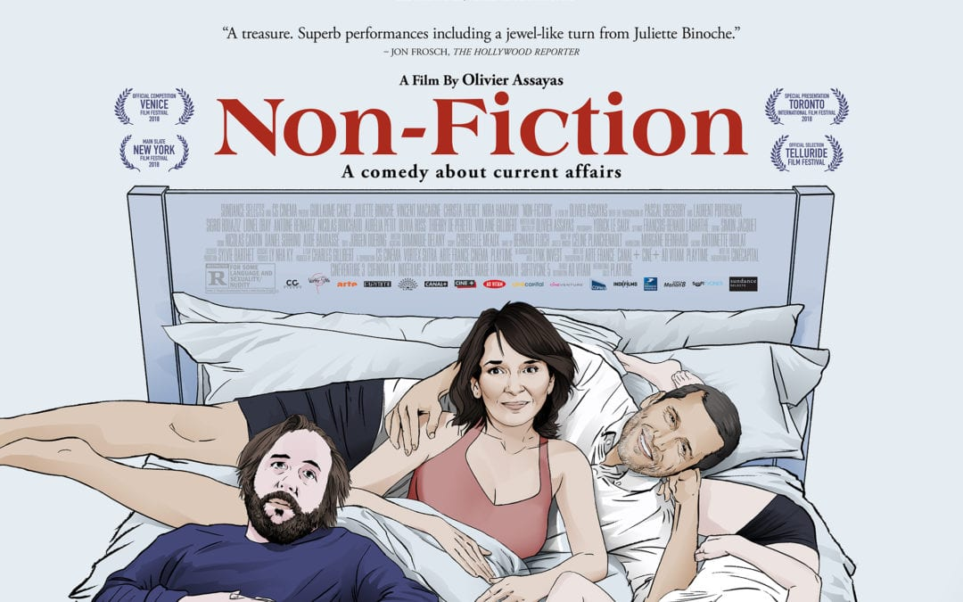 """Non-Fiction"" (France, 2018, farce, 108m, R)"